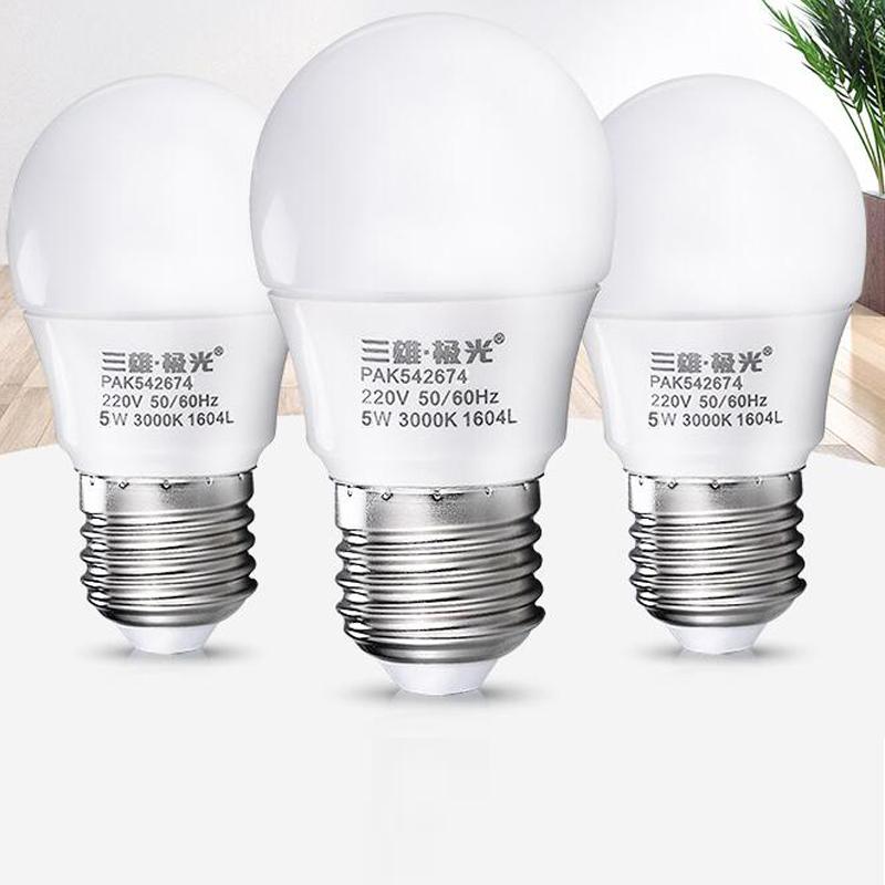 三雄极光LED球泡PAK542674-5